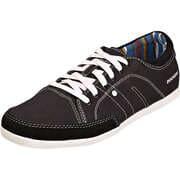 Dockers Sneaker Low Leinen Schnürer  schwarz