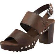 Dockers Riemchen Sandale  dunkelbraun