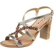 Fiocco Sommerschuhe Sandale  gold