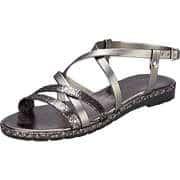 Fiocco Stiefel Sandale  silber