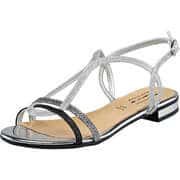 Fiocco Sommerschuhe Sandale  silber