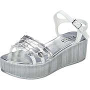 Fiocco Damen Sommerschuhe Sandale  silber