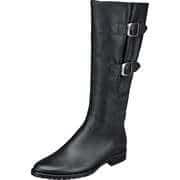 Gabor Schwarze Schuhe Langschaftstiefel  schwarz