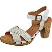 Gabor Riemchen Sandale  weiß