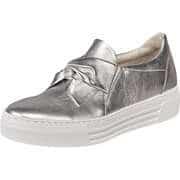 Gabor Silberne Schuhe Slipper  silber
