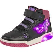 Minigirlschuhe - Geox J Inek Girl Sneaker High Mädchen schwarz - Onlineshop Schuhcenter