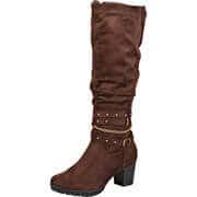 Inspired Shoes Stiefel Langschaftstiefel  braun