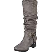 Inspired Shoes Stiefel Langschaftstiefel  grau