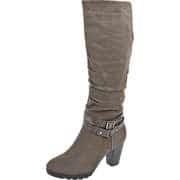 Inspired Shoes Winterschuhe Langschaftstiefel  grau
