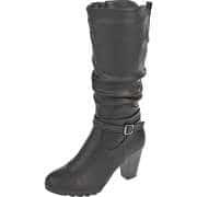 Inspired Shoes Klassische Stiefel Langschaftstiefel  schwarz