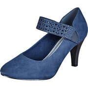 Inspired Shoes Prozent Knaller Spangenpumps  blau
