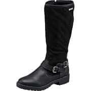 Inspired Schuhe Langschaftstiefel  schwarz