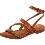 Inspired Sommerschuhe Sandale  braun