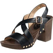 Inspired Sommerschuhe Sandale  schwarz