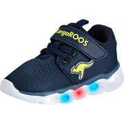 KangaROOS Sneaker Low Baby Shine EV Kletter  blau
