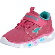 KangaROOS Klettschuhe Baby Shine EV Sneaker  pink
