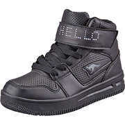 KangaROOS Schwarze Schuhe Future-Space Hi Sneaker  schwarz