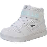 KangaROOS Sneaker High Future-Space LED Sneaker  weiß