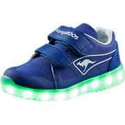 KangaROOS Sneaker Low K-Hawk V Lichteffekt Sneaker  blau