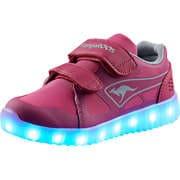 KangaROOS Sneaker Low K-Hawk V Lichteffekt Sneaker  pink