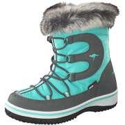 KangaROOS Schnürstiefel Maple Winter Boots  grün
