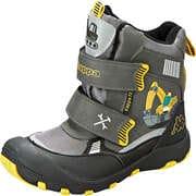 Kappa Graue Schuhe Road Tex K Klett Boot  grau