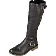 Rieker Klassische Stiefel Langschaftstiefel  schwarz