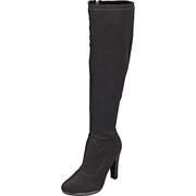 klassische Stiefel Langschaftstiefel  schwarz