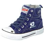 Dockers High Top Sneaker Leinen Boot  navy