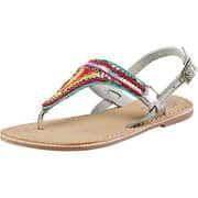 Leone Sommerschuhe Sandale  silber