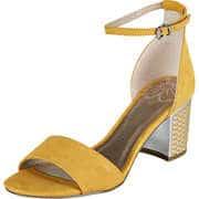 Marco Tozzi Gelbe Schuhe Sandale  gelb
