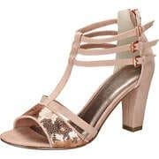 Marco Tozzi Riemchen Sandale  rosa