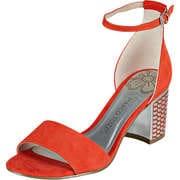 Marco Tozzi Damen Sommerschuhe Sandale  rot