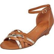 Massin Braune Schuhe Sandale  braun