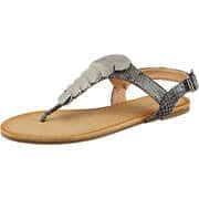 Massin Sommerschuhe Sandale  grau