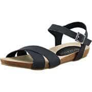 Massin Schuhe Sandale  schwarz