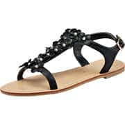 Massin Sommerschuhe Sandale  schwarz