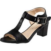 Massin Riemchen Sandale  schwarz