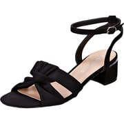 Massin Schwarze Schuhe Sandale  schwarz