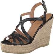 Maypol Riemchen Sandale  schwarz