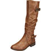 Mustang Klassische Stiefel Langschaftstiefel  braun