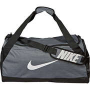 Nike Performance Graue Schuhe Brasilia (Medium) Duffel Bag  grau
