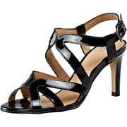 Perlato Marken Outlet Sandale  schwarz