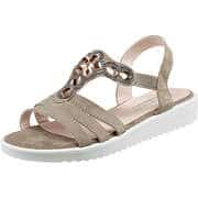 Puccetti Sommerschuhe Sandale  beige