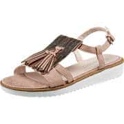 Puccetti Sommerschuhe Sandale  rosa