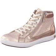 Puccetti Sneaker High Schnürsneaker  rosa