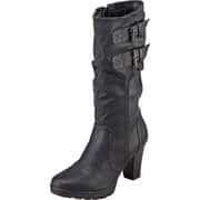 Puccetti Halbhohe Stiefel Stiefel  schwarz
