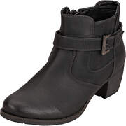 Puccetti Chelsea Ankle Boots Stiefelette  schwarz