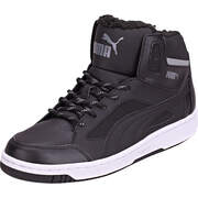 Puma Lifestyle Sneaker Rebound v2 Hi Winter  schwarz
