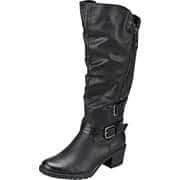 Relife Schuhe Langschaftstiefel  schwarz